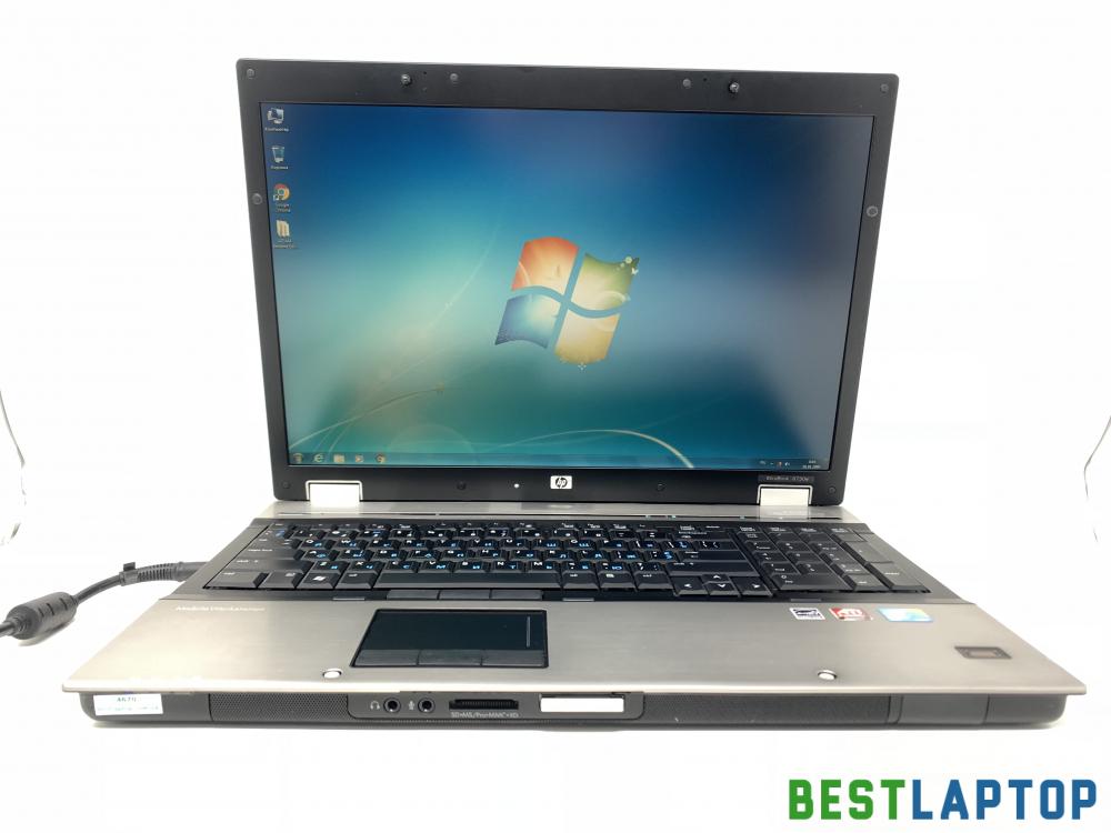 Купить ноутбук бу HP Elitebook 8730w 2 ядра 4Gb